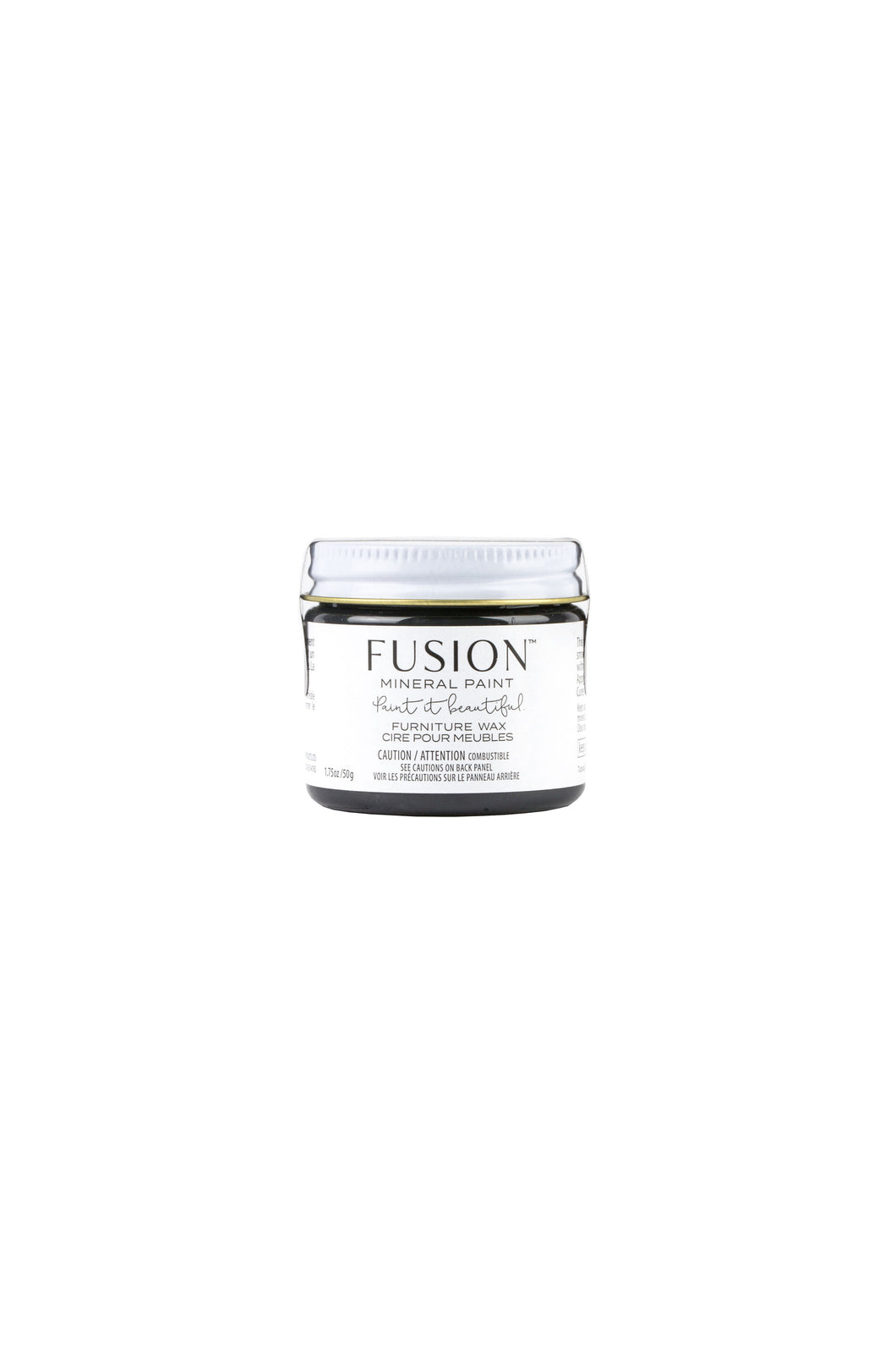 Fusion Furniture Wax | Black | 50g
