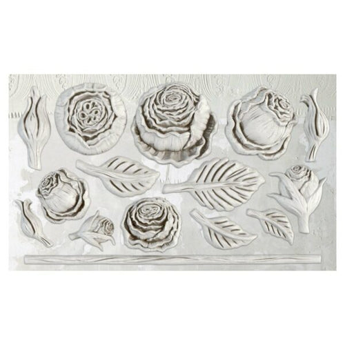 NEW! Heirloom Roses IOD Decor Mould