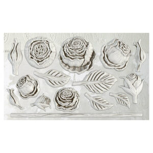 Heirloom Roses IOD Decor Mould