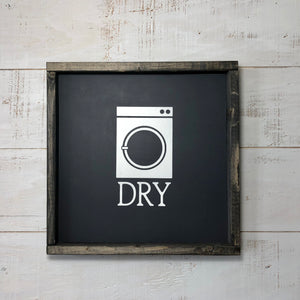 Framed Panel Sign | 12 x 12 | Dry