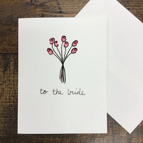 To the Bride | Greeting Card