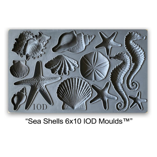 Sea Shells IOD Decor Mould