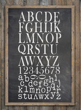 Typesetting IOD Decor Stamp (two sheets)