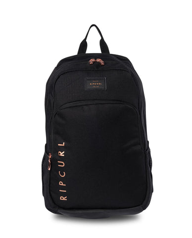 Rip Curl Ozone Rose Backpack - Black