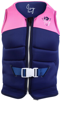 Ivy Lotus Life Jacket - Pink | Rapid Surf & Ski