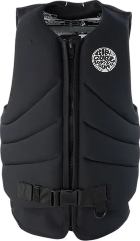 RIP CURL DAWN PATROL LIFE JACKET - BLACK | Rapid Surf & Ski