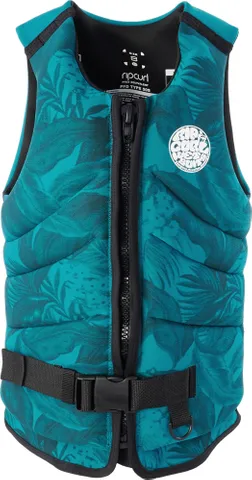 RIP CURL WOMENS DAWN PATROL LIFE JACKET - GREEN | Rapid Surf & Ski