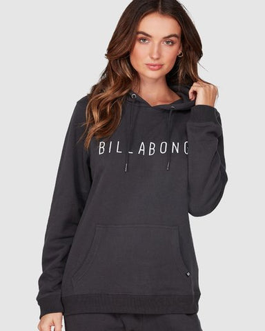Billabong Rebellion Pop Hoodie - Black