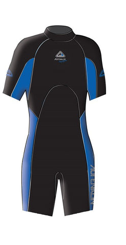 Adrenalin Junior Aquasport Springsuit - Blue - Rapid Surf & Ski