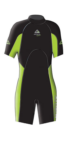 Adrenalin Junior Aquasport Springsuit - Lime - Rapid Surf & Ski