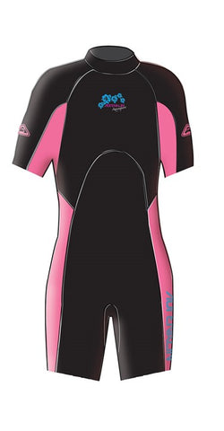 Adrenalin Junior Aquasport Springsuit - Pink - Rapid Surf & Ski
