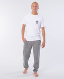 Rip Curl Beach Script Trackpants - Grey | Rapid Surf & Ski