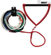 Directline 75'' 10 Loop Short V Waterski Rope & Handle - Rapid Surf & Ski