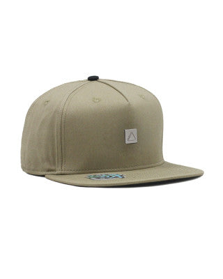 Follow Stamped Cap - Khaki - Rapid Surf & Ski
