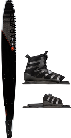 2021 RADAR SENATE GRAPHITE VECTOR BOA BOOT PACKAGE | Rapid Surf & Ski