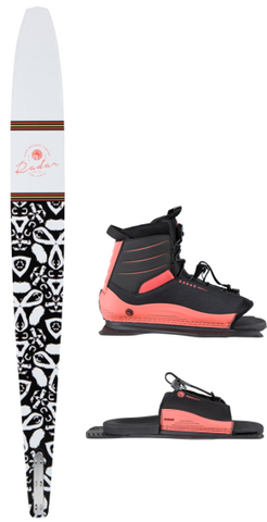 2021 RADAR LYRIC WOMENS SKI W LYRIC BOOT | Rapid Surf & Ski