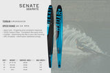 2020 Radar Senate Graphite W/ Vector Boa Boot & Artp - Rapid Surf & Ski