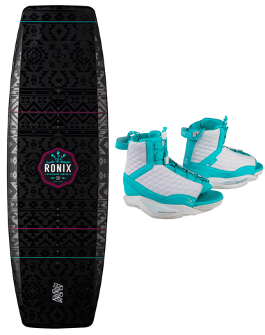 2020 Ronix QTM Wakeboard W/ Luxe Boots - Rapid Surf & Ski