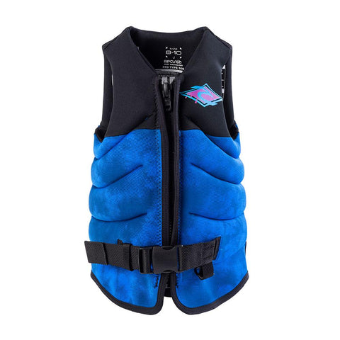 Rip Curl Boys Dawn Patrol Life Jacket - Blue