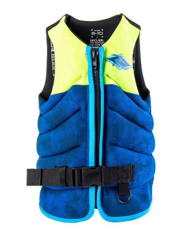 Rip Curl Boys Dawn Patrol Life Jacket - Green