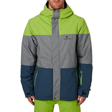 Rip Curl Enigma Snow Jacket - Green - Rapid Surf & Ski
