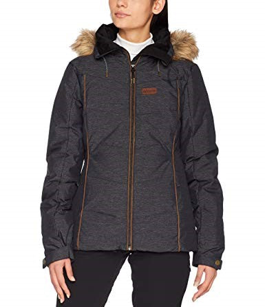Rip Curl Fury Down Snow Jacket - Black - Rapid Surf & Ski