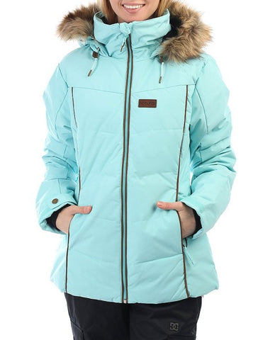 Rip Curl Fury Down Snow Jacket - Blue - Rapid Surf & Ski