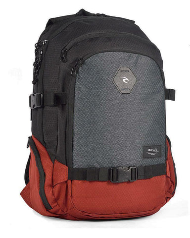 Rip Curl Posse Stacka Backpack - Red - Rapid Surf & Ski