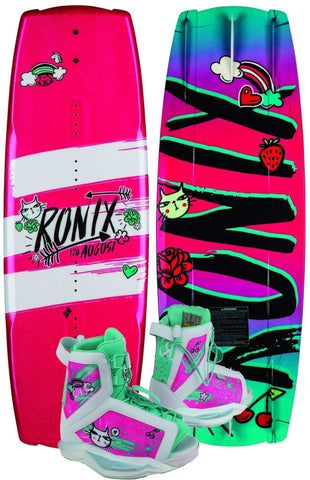 Ronix August Board 2019 W/ August Boots
