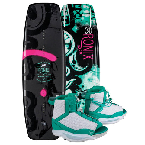 Ronix QTM Board 2019 W/ Luxe Boots