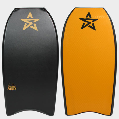 Stealth Army PP Body Board - Black