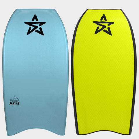 Stealth Army PP Body Board - Light Blue