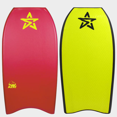 Stealth Army PP Body Board - Red