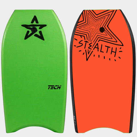 Stealth Tech EPS Body Board - Green