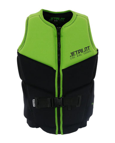 Jetpilot Nighthawk Life Jacket - Green - Rapid Surf & Ski