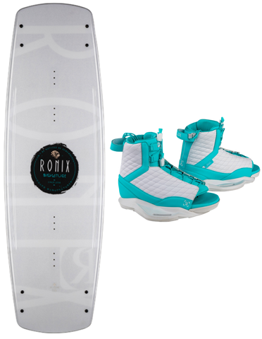 2020 Ronix Signature Wakeboard W/ Luxe Boots - Rapid Surf & Ski