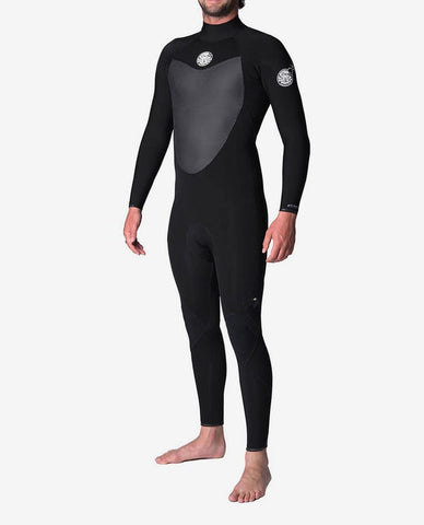Rip Curl Flashbomb 3/2mm Steamer Wetsuit - Back Zip