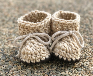 Oatmeal Booties & Children's Slippers