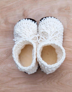 Cream Adult Slippers