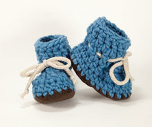 Blue Suede Booties & Children's Slippers