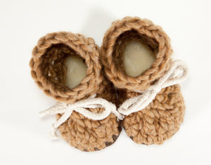 Chestnut Booties & Children's Slippers
