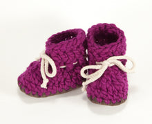 Sheepskin lined slippers for girls
