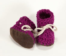 Fuchsia Booties & Children's Slippers