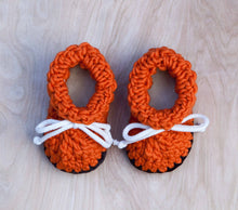 Orange Booties & Children's Slippers