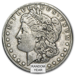 1878-1904 Morgan Silver Dollars VG-XF