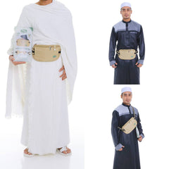 Anti-Theft Waist Bag And Ihram Belt(Medium)
