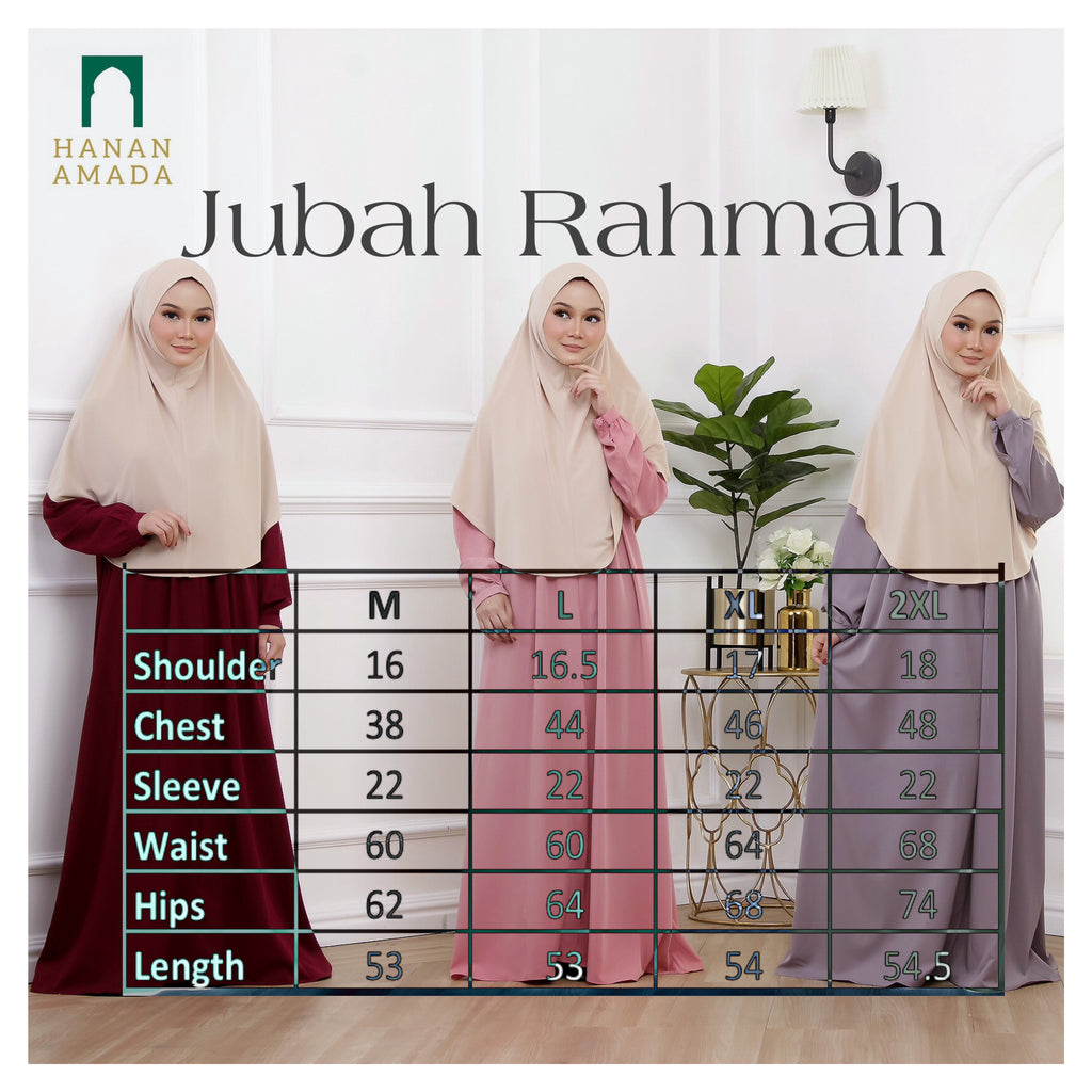 Rahmah - Dusty Pink