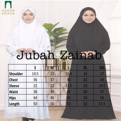Zainab - Black Jubah / Dress