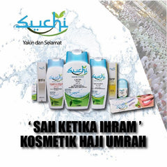 Suchi Essential Safa Set - Ihram Friendly (4 mini piece Set)