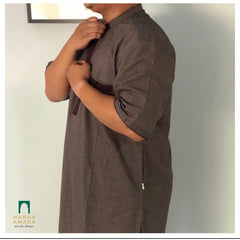 Kurta Safwa - Maroon (Plus Sizes Available)